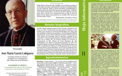 Hoja Informativa J. M. García Lahiguera Nº 13