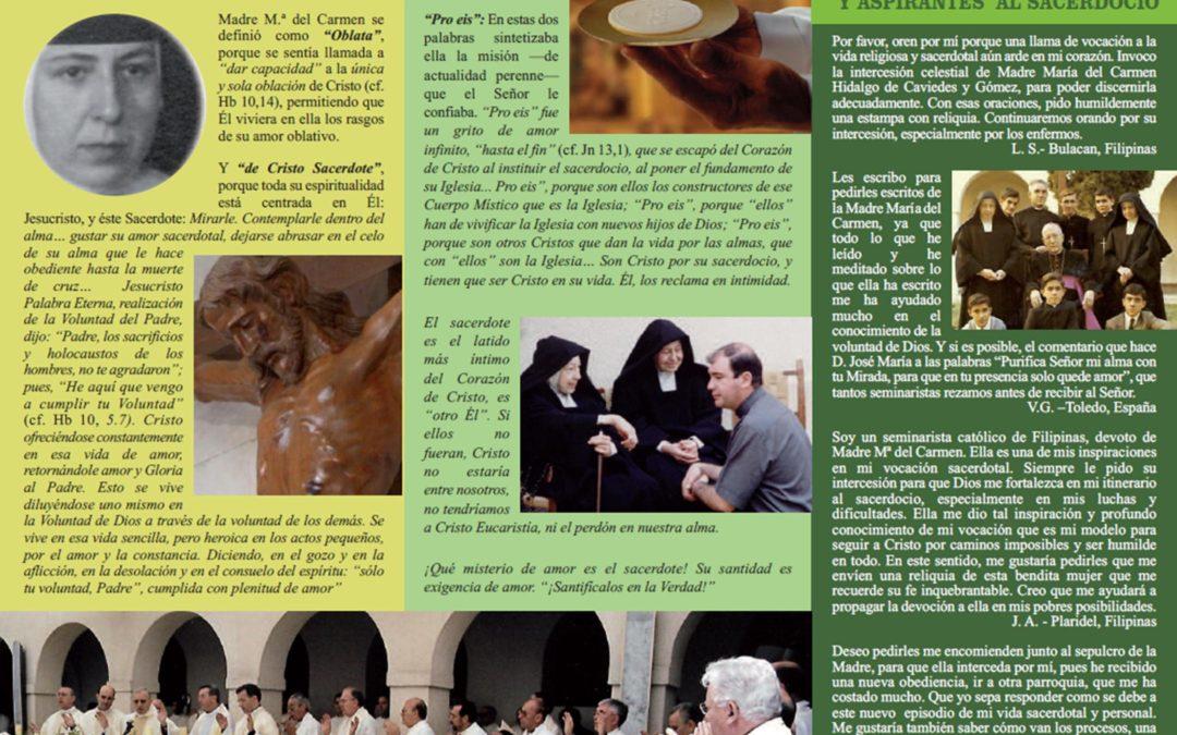 Hoja Informativa M. Mª del Carmen Hidalgo Nº 16