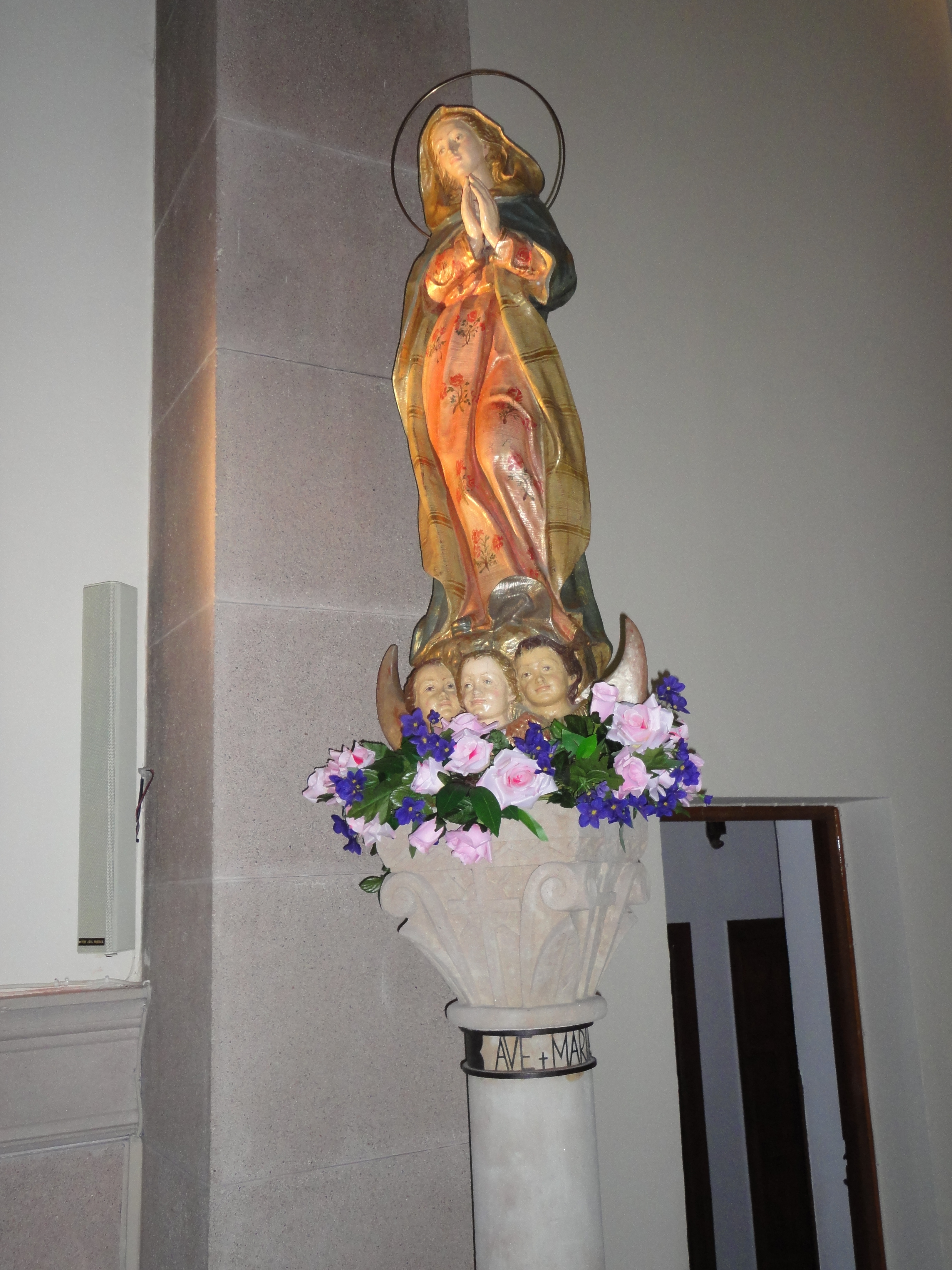 Virgen capilla salamanca