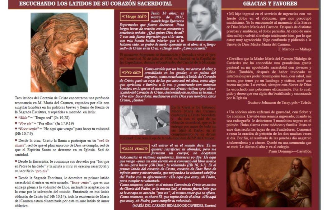 Hoja Informativa M. Mª del Carmen Hidalgo Nº 17