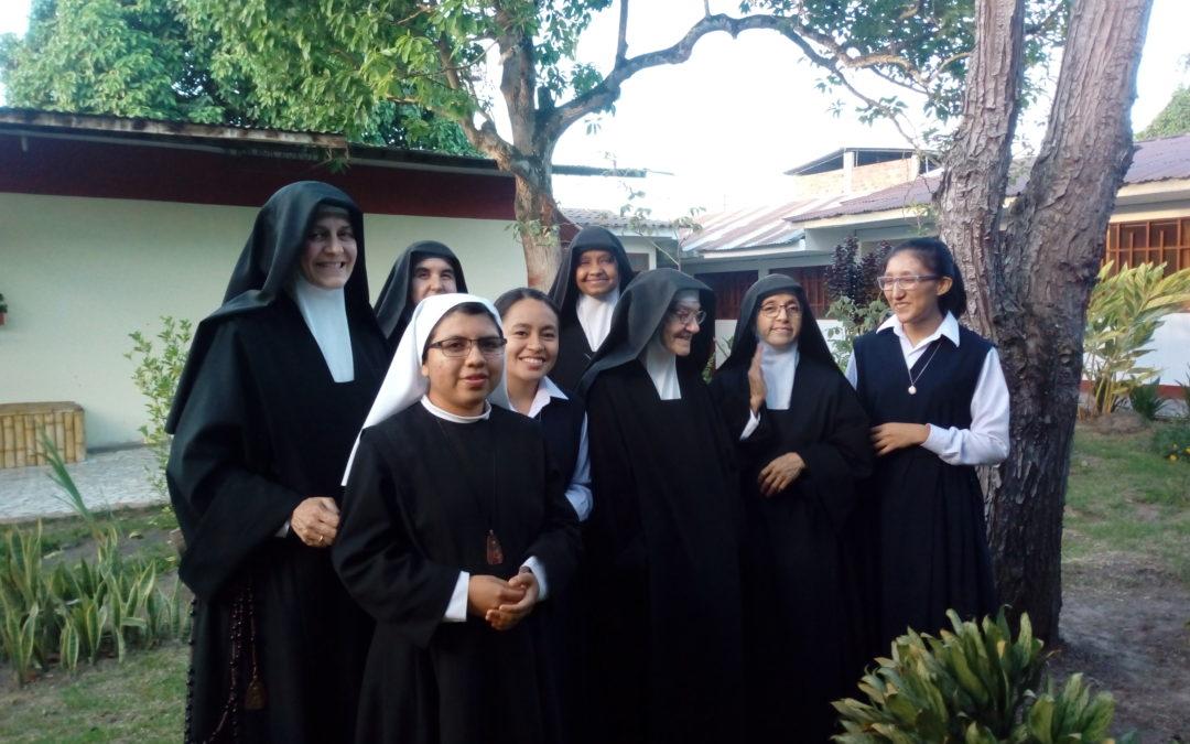 Visita a la Comunidad de Moyobamba