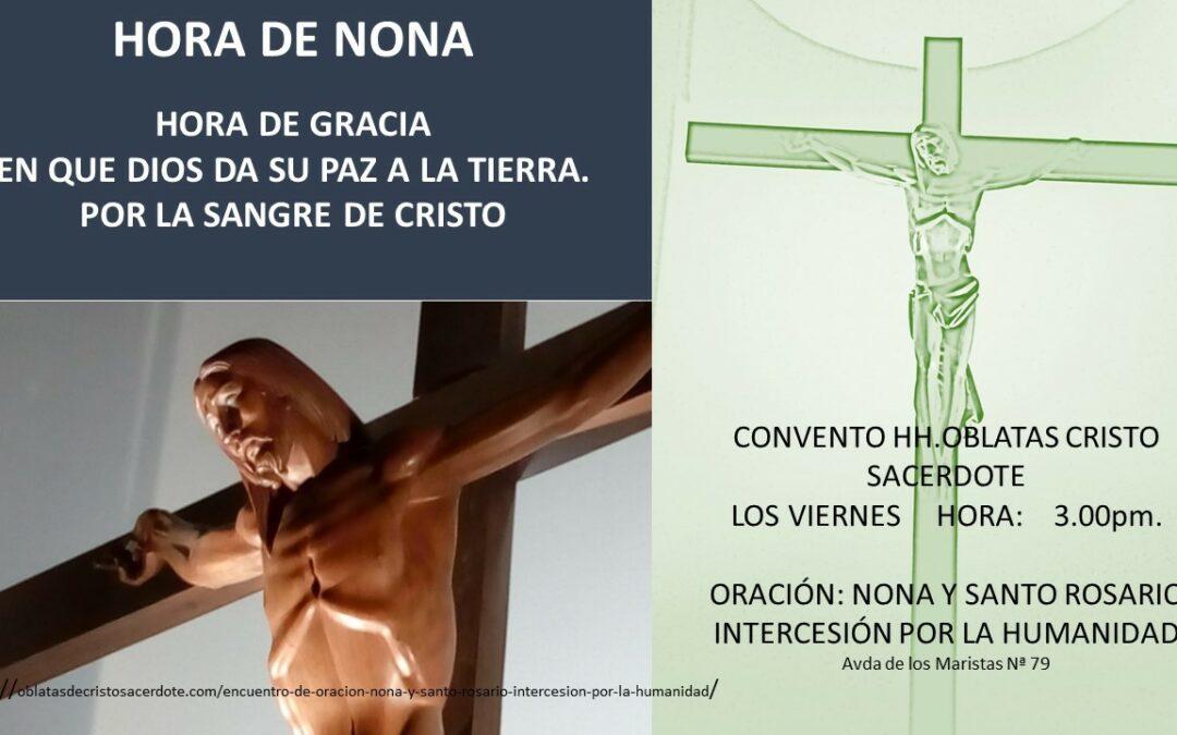 LA HORA DE NONA- VIERNES DE CENIZA