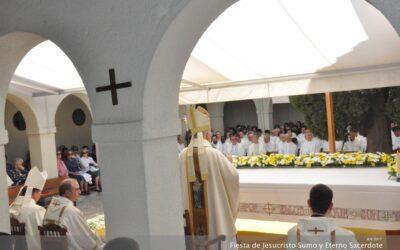 27 DE MAYO 2021 FIESTA DE JESUCRISTO, SUMO Y ETERNO SACERDOTE